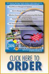 Order Diana Day Training Products